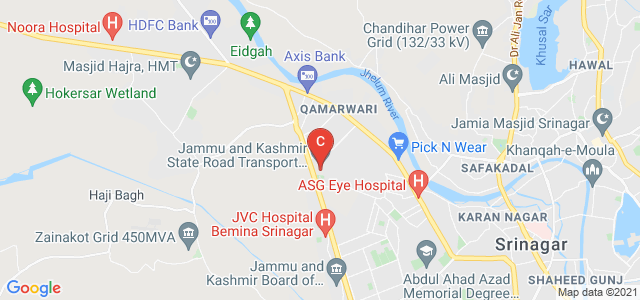 Jammu and Kashmir State Road Transport Corporation, Bemina, Srinagar