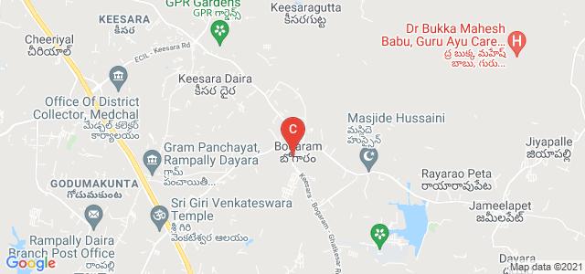 Keesara - Bogaram - Ghatkesar Road, Bogaram, Telangana, India