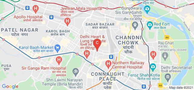 Jhandewalan, New Delhi, Delhi 110055, India