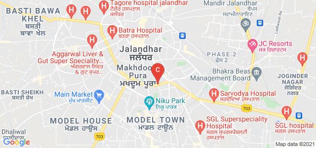 Apeejay College of Fine Arts Jalandhar, Mahavir Marg, New Jawahar Nagar, Civil Line, Jalandhar, Punjab, India