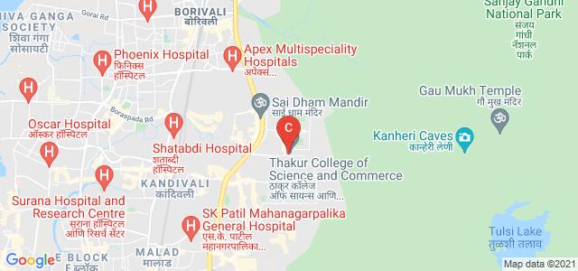 Thakur College of Science and Commerce, ठाकुर, Thakur Village, Kandivali, Mumbai, Maharashtra, India