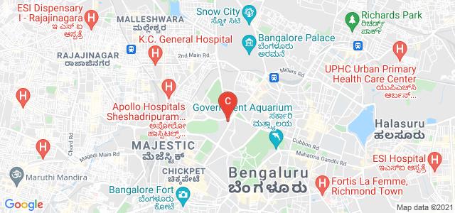 Government Ramnarayan Chellaram College of Commerce and Management, Race Course Road, Racecourse, Basaveshwara Circle, Bengaluru, Karnataka, India