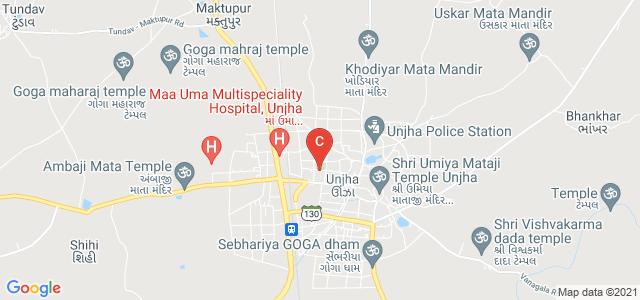 B P Brahmbhatt Arts & M H Guru Commerce College, Station Road, Patel Nagar, Unjha, Gujarat, India