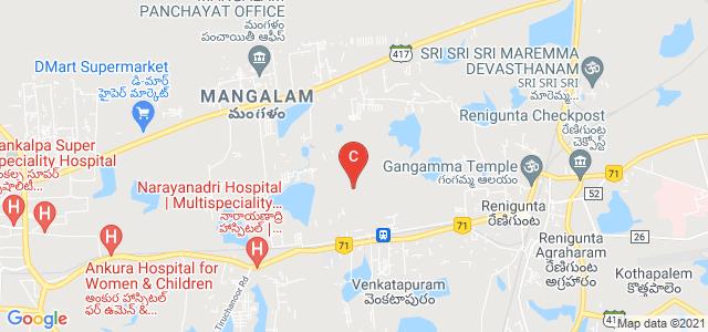 Sri Venkateswara College Of Engineering, Karakambadi Road, Mangalam, Tirupati, Andhra Pradesh, India