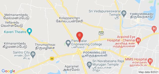 Sree Sastha Institute of Engineering and Technology, Chennai, Tamil Nadu, India