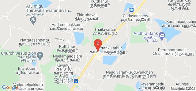 SRM University Canteen, college Road, Potheri, Kattankulathur, Tamil Nadu, India