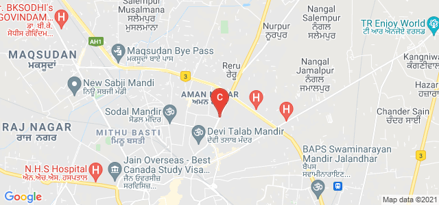 Kanya Maha Vidyalaya, B D A Enclave, Santokh Pura, Jalandhar, Punjab, India