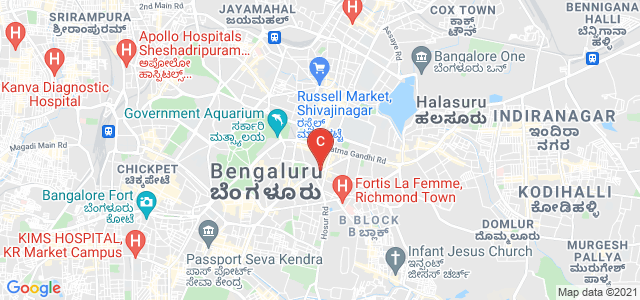 St Joseph's Institute of Management, Primrose Road, Craig Park Layout, Ashok Nagar, Bangalore, Karnataka, India