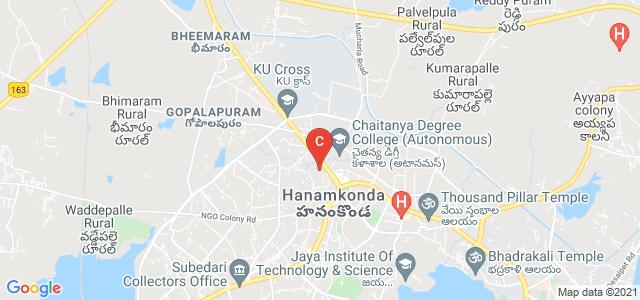 Vaagdevi Degree and PG College, Karimnagar-Warangal Road, Rajaji Nagar, Ramnagar, Hanamkonda, Telangana, India