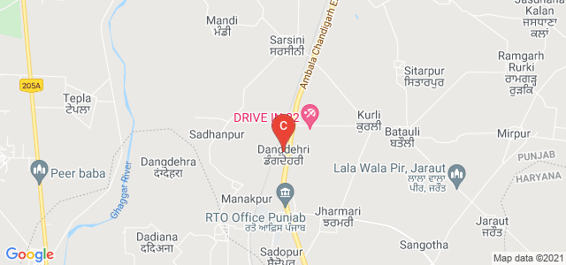 Maharishi Markandeshwar University , Ambala Campus, Ambala, Haryana, India