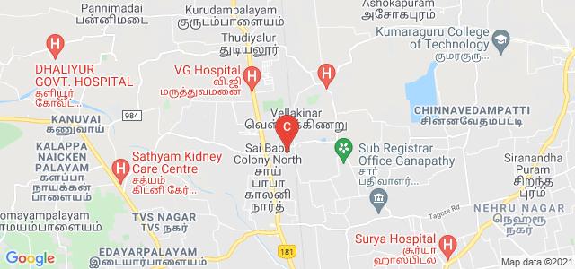 Kongunadu Arts and Science College, Post, GN Mills, Coimbatore, Tamil Nadu, India