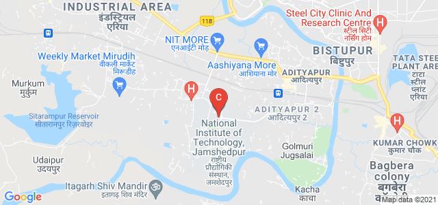 National Institute of Technology, Jamshedpur, Adityapur, Jamshedpur, Jharkhand, India