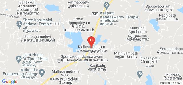 Mahendra Engineering College, Mallasamudram, Namakkal, Tamil Nadu, India