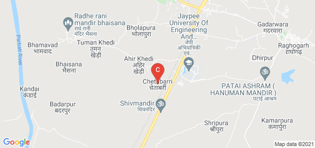 Jaypee University Of Engineering And Technology, Agra Bombay Road, Raghogarh -Vijaypur, Madhya Pradesh, India