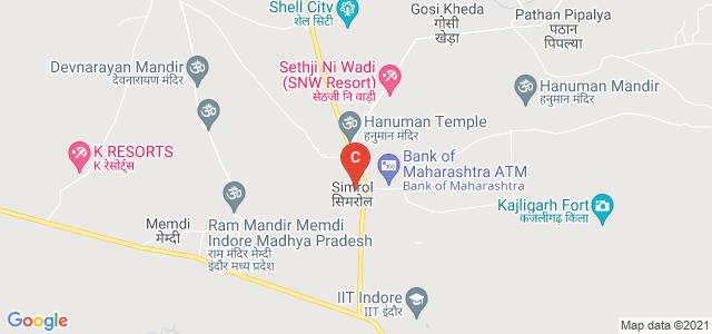 Indian Institute of Technology Indore, Khandwa Road, Simrol, Madhya Pradesh, India