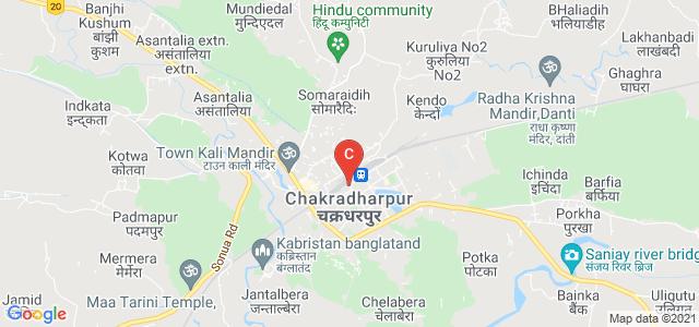 Chakradharpur, West Singhbhum, Jharkhand 833102, India