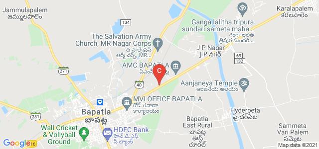 ANGRAU - Dr NTR College of Agricultural Engineering, Bapatla, Viswabrahmana Colony, Bapatla, Andhra Pradesh, India