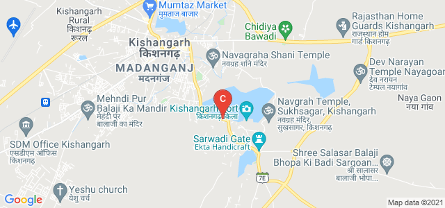 Kishangarh Road, Ajay Nagar, Mahanton Ka Mohalla, Kishangarh, Rajasthan 305801, India