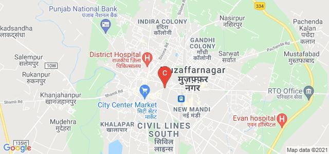 Bhopa Road, Arya Puri, Civil Lines North, Muzaffarnagar, Uttar Pradesh, India