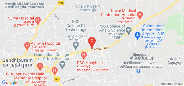 PSGR Krishnammal College For Women, Avinashi Road, Peelamedu, Coimbatore, Tamil Nadu, India