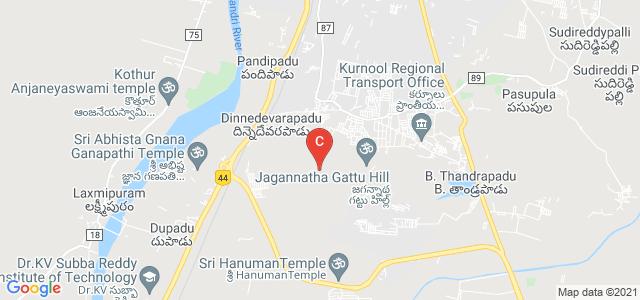 IIITDM Kurnool, Jagannatha gattu, Dinnedevarapadu, Andhra Pradesh, India