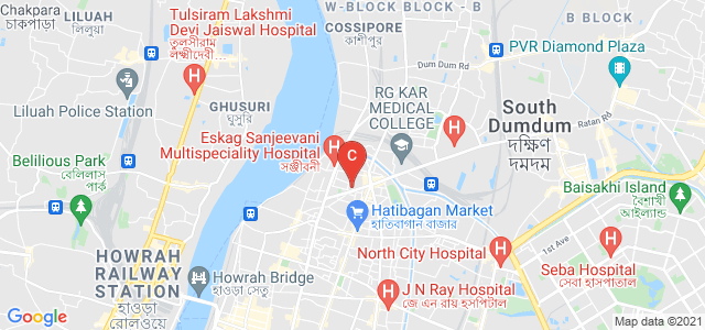 Maharani Kasiswari College, Ramakanta Bose Street, Bidhan Sarani, Shyam Bazar, Kolkata, West Bengal, India