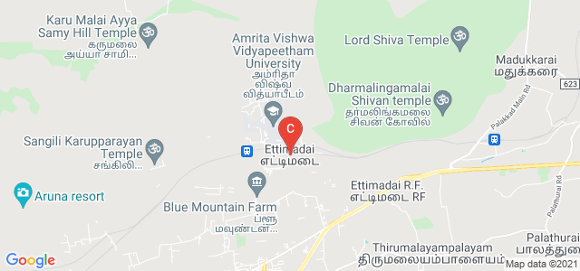 Amrita Vishwa Vidyapeetham University, Ettimadai, Coimbatore, Tamil Nadu, India
