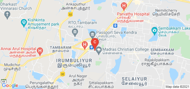 Madras Christian College, East Tambaram, Tambaram, Chennai, Tamil Nadu, India