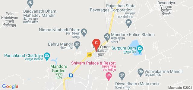 National Law University, Jodhpur, New Nagour Road, Mandore, Jodhpur, Rajasthan, India
