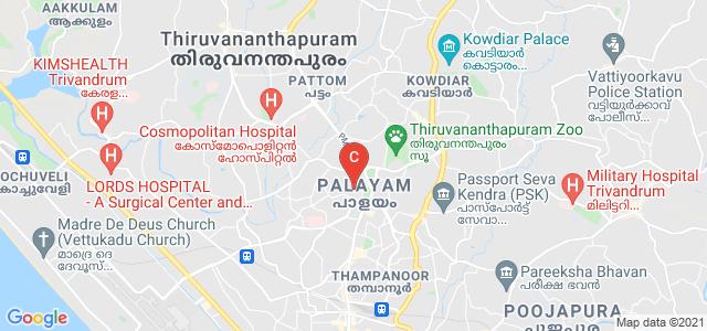 University of Kerala, University of Kerala Senate House Campus, Palayam, Thiruvananthapuram, Kerala, India