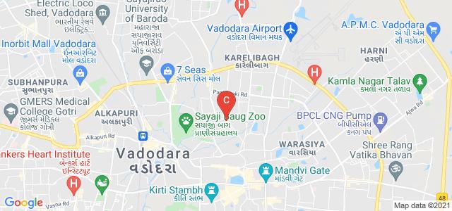 Devraj Buildind,Akshar Mahila B.Ed. College, Arya Kanya Road, Karelibagh, Vadodara, Gujarat, India