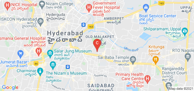 Kalanjali College Of Nursing, Saleem Nagar Colony, Malakpet Extension, Old Malakpet, Hyderabad, Telangana, India