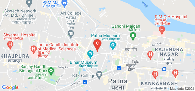 Patna Women's College, Bailey Road, Kidwaipur Postal Colony, Patna, Bihar, India
