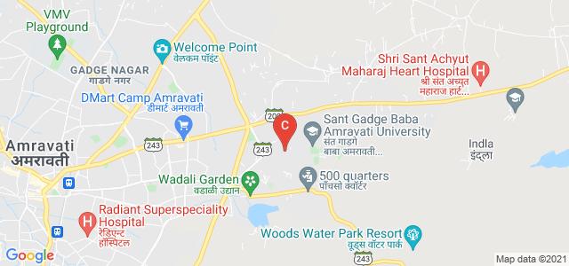 Sant Gadge Baba Amravati University, Amravati, Maharashtra, India