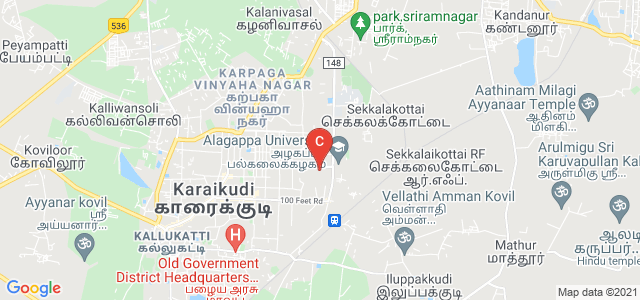 Alagappa University, Alagappa Puram, Karaikudi, Tamil Nadu, India