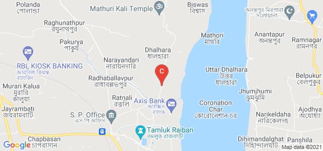 Tamluk, Purba Medinipur, West Bengal 721636, India