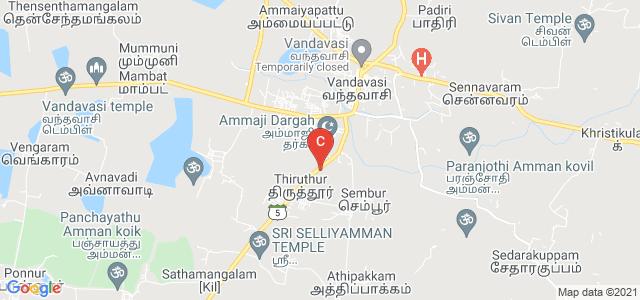 Sri Akilandeswari Womens' College, Vandavasi, Tiruvannamalai, Tamil Nadu 604408, India