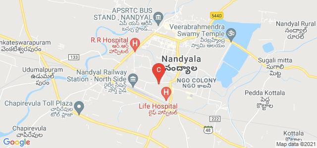 Bharathi College Of Education, Saibaba Nagar Road, Grameena Bank Staff Colony, Sadiq Nagar, Nandyal, Andhra Pradesh, India