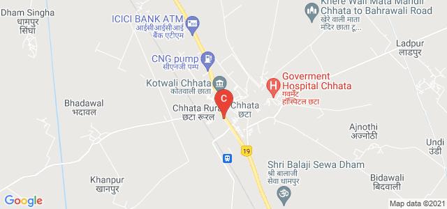 Chhata, Uttar Pradesh 281401, India