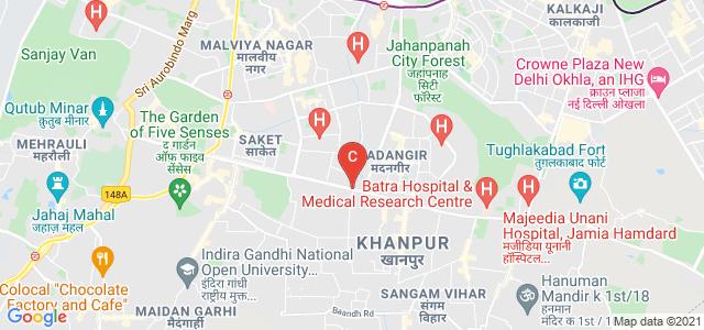 Delhi Pharmaceutical Sciences and Research University, Mehrauli - Badarpur Rd, Sector 3, Pushp Vihar, New Delhi, Delhi 110017, India
