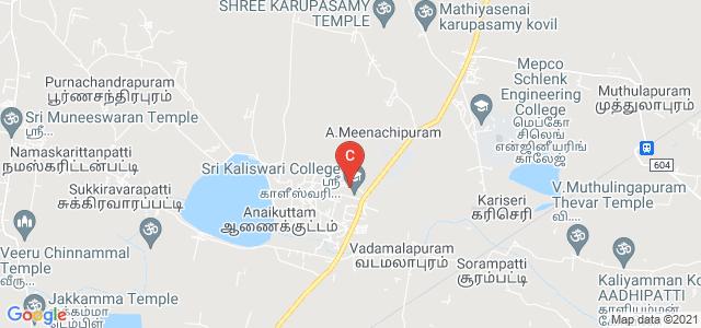 Sri Kaliswari Institute Of Management & Technology, Sivakasi, Tamil Nadu, India