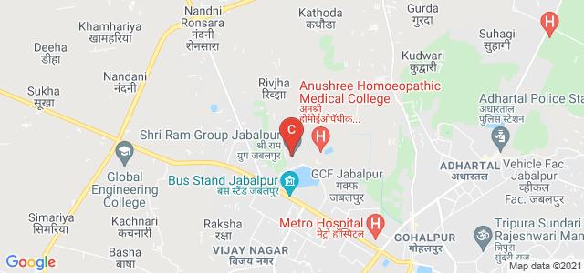 Shri Ram Group Jabalpur, Karmeta, Jabalpur, Madhya Pradesh, India