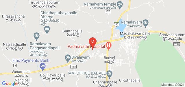 SBVR Agricultural College, Badvel, Kadapa, Andhra Pradesh, India