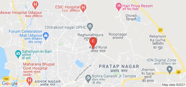 Aishwarya College of Education Sansthan, Udaipur, Shyam Marg, Udaipur, Rajasthan, India