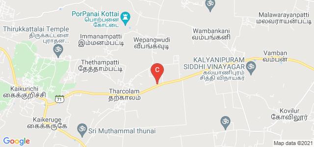 PUSHKARAM AGRICULTURE COLLEGE, State Highway 71, Pudukkottai, Tamil Nadu, India