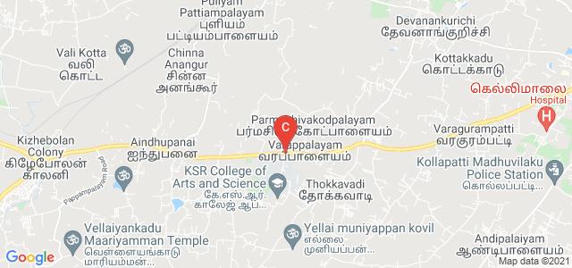 K.S.R. College of Engineering., Tiruchengode, Tamil Nadu, India