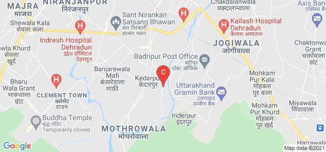 Doon University, Mothorowala Rd, Doon University Campus, Kedarpur, Uttarakhand, India