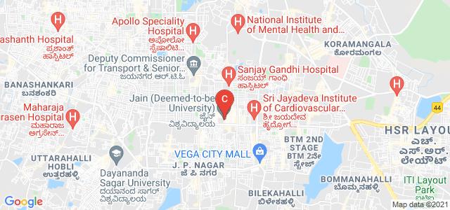 Jain (Deemed-to-be University), Behind बिग बाजार, Kottapalya, Jayanagara 9th Block, Jayanagar, Bengaluru, Karnataka, India