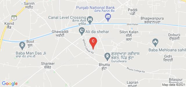 Bhutta College Of Education, Ludhiana, Punjab 141206, India