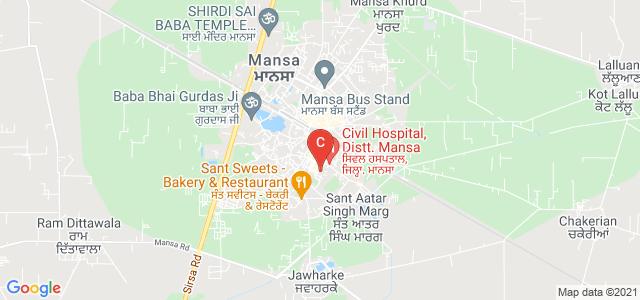 S D Kanya Mahavidyala, Sadar, Mansa, Punjab, India